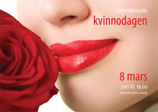 grattis på 8 mars Det är Den Internationella kvinnodagen idag Grattis alla kvinnor  grattis på 8 mars